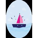Oval Ship