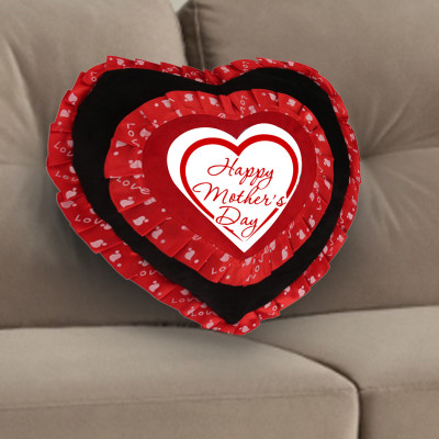 Double Layered Heart Cushion