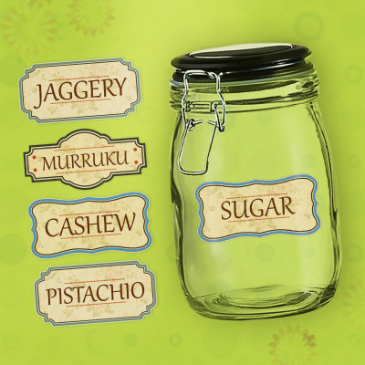 Pantry Labels - Big Jar