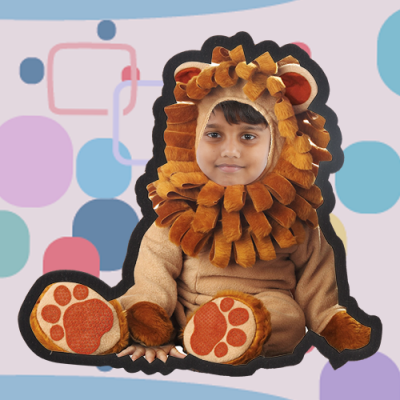 Lion Photo Frame