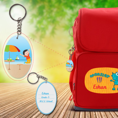 Ellipse Bag Tags