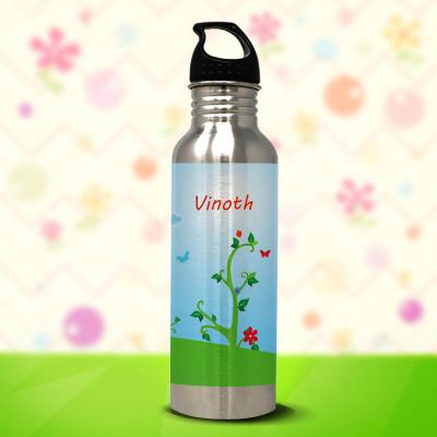 Fences Silver Water Bottle 750ml