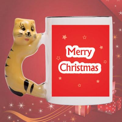Christmas Mug - CAT