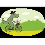 Cycling Dino