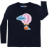 Blue Full Sleeve Boys Pyjama - Hot Air Balloon