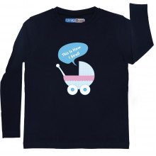 Blue Full Sleeve Boys Pyjama - Pram