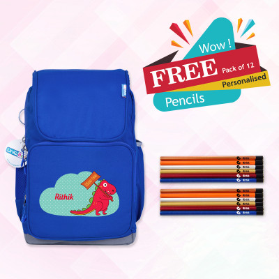 Smart Kids School Bag (Std 7 to 12)