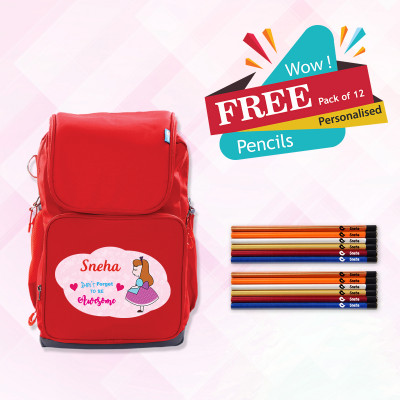 Active Kids School Bag (Std 3 to 6)