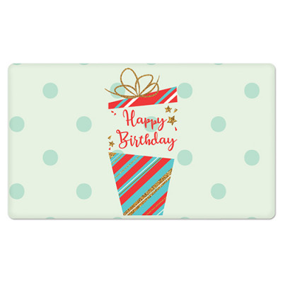 Fridge Magnet Rectangle - Birthday