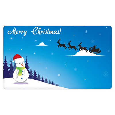 Fridge Magnet Rectangle - Christmas