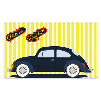 Fridge Magnet Rectangle - Car