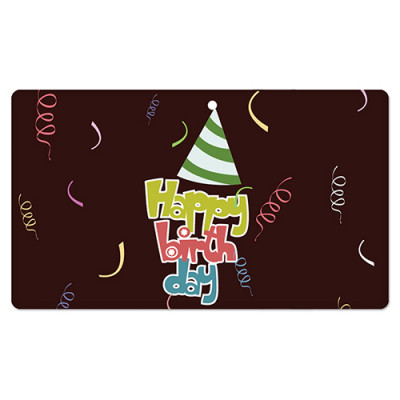 Fridge Magnet Rectangle - Happy Birthday
