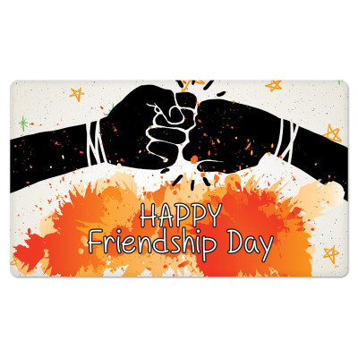 Fridge Magnet Rectangle - Friendship Day