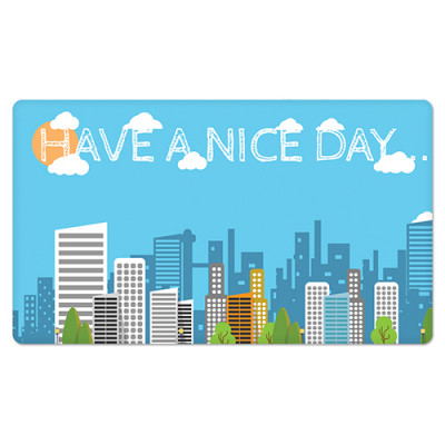 Fridge Magnet Rectangle - Have a Nice Day