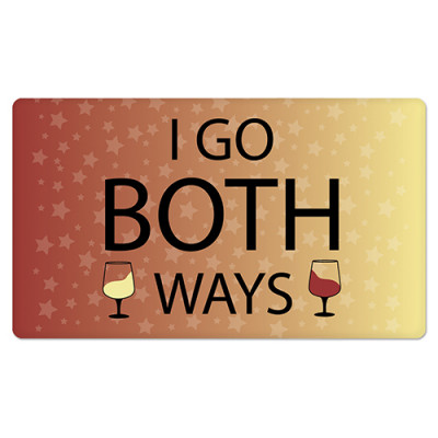 Fridge Magnet Rectangle - Both Ways