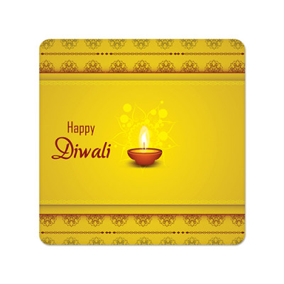 Fridge Magnet Square - Diwali