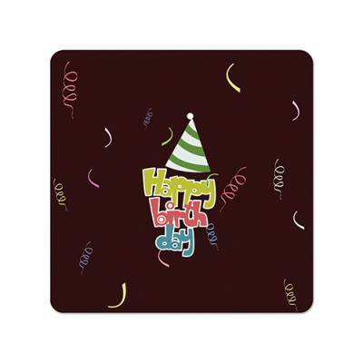 Fridge Magnet Square - Happy Birthday