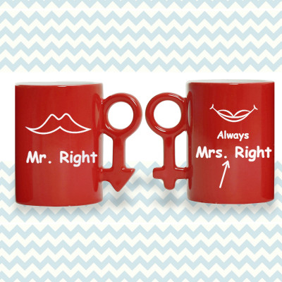 Couple Magic Mug - Red