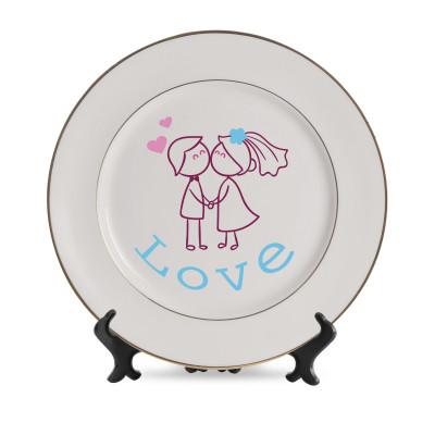 White Plates Medium