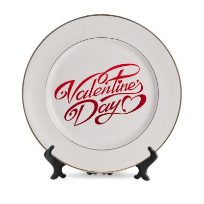 White plates Large