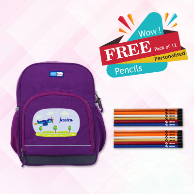 Bright Kids School Bag (Std 1 & 2)