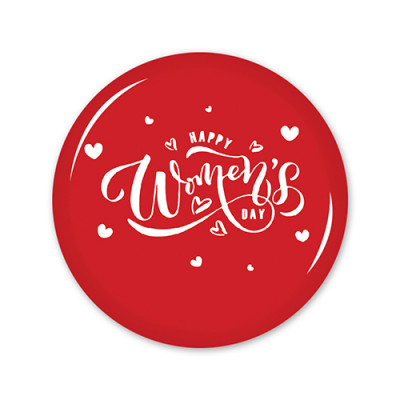 School Badges Medium - Women's Day
