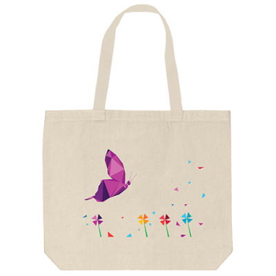 Tote Bags - Try Butterfly