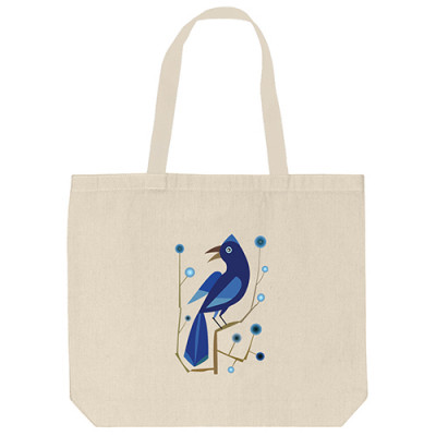 Tote Bags - Blue Bird