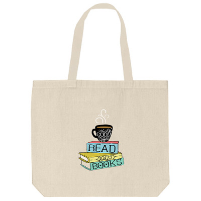 Tote Bags - Coffee Book