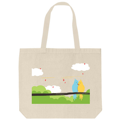 Tote Bags - Love Birds