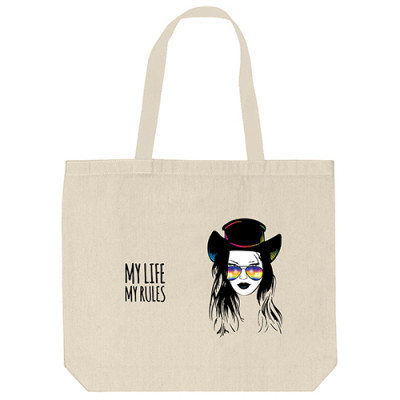 Tote Bags - My Life