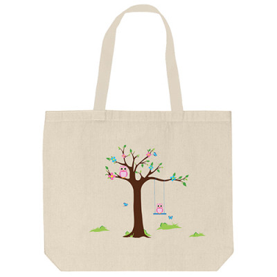 Tote Bags - Owl Couple