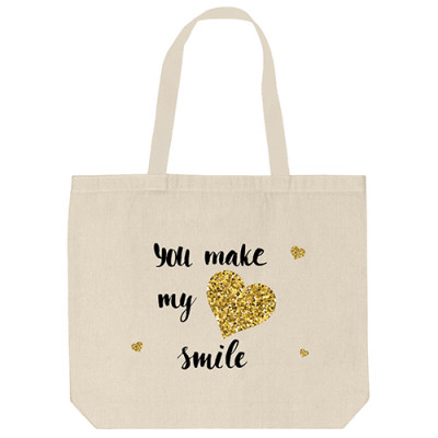 Tote Bags - Smile