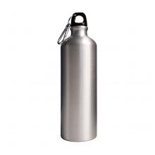 Single Lid Silver Bottle 750ml