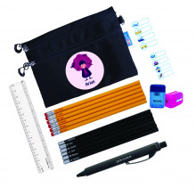 Classic Black Stationery Pouch