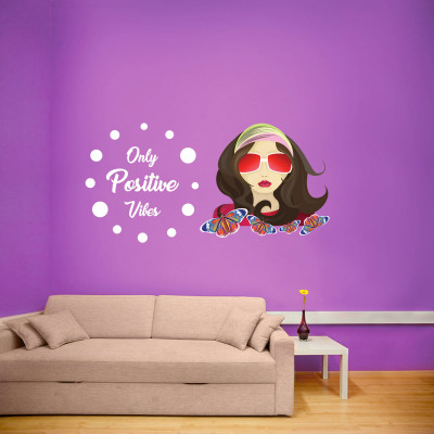 Chick Vibes Wall Decal