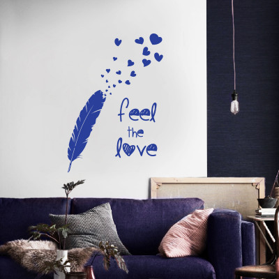 Feel the Love Wall Decal