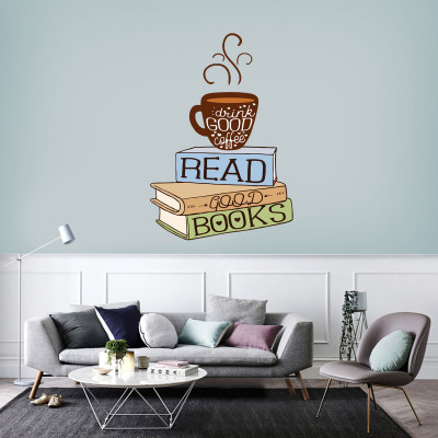 Good Book Wall Decal