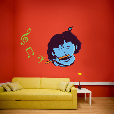 Krishna Wall Decal