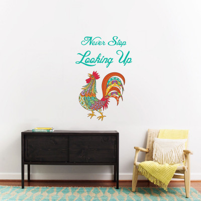 Looking Up Wall Decal