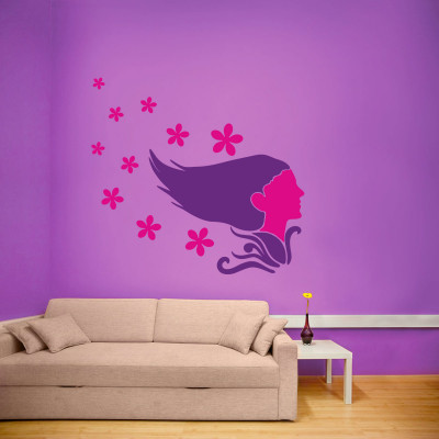 Nature Girl Wall Decal