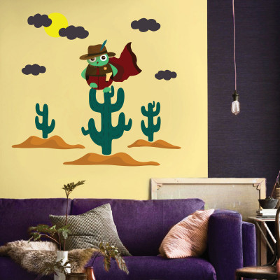 Owl Wall Decal