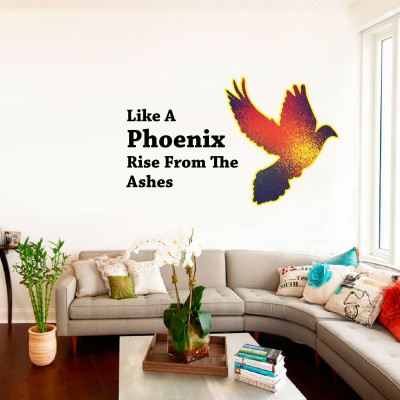 Phoenix Wall Decal