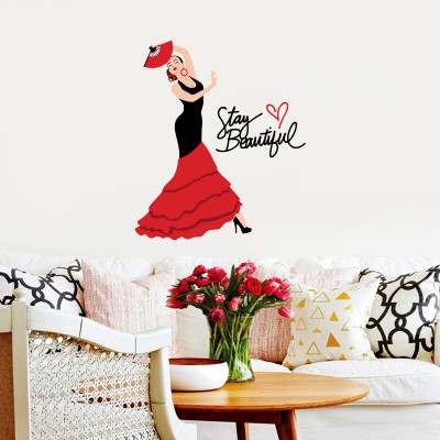 Stay Beautiful Wall Decal