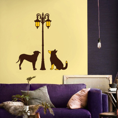 Street Dogs Wall Decal
